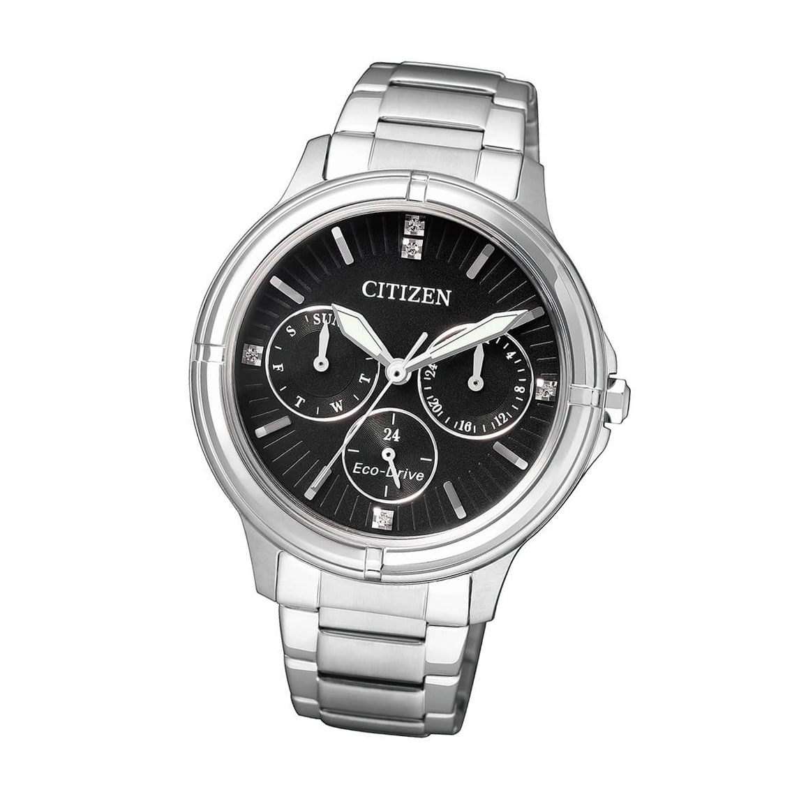 Citizen Elegant FD2030-51E Damen Armbanduhr Eco Drive