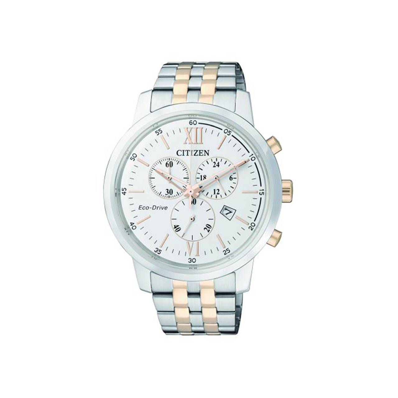 Citizen Elegant AT2305-81A Eco Drive Bicolor Herrenchrono