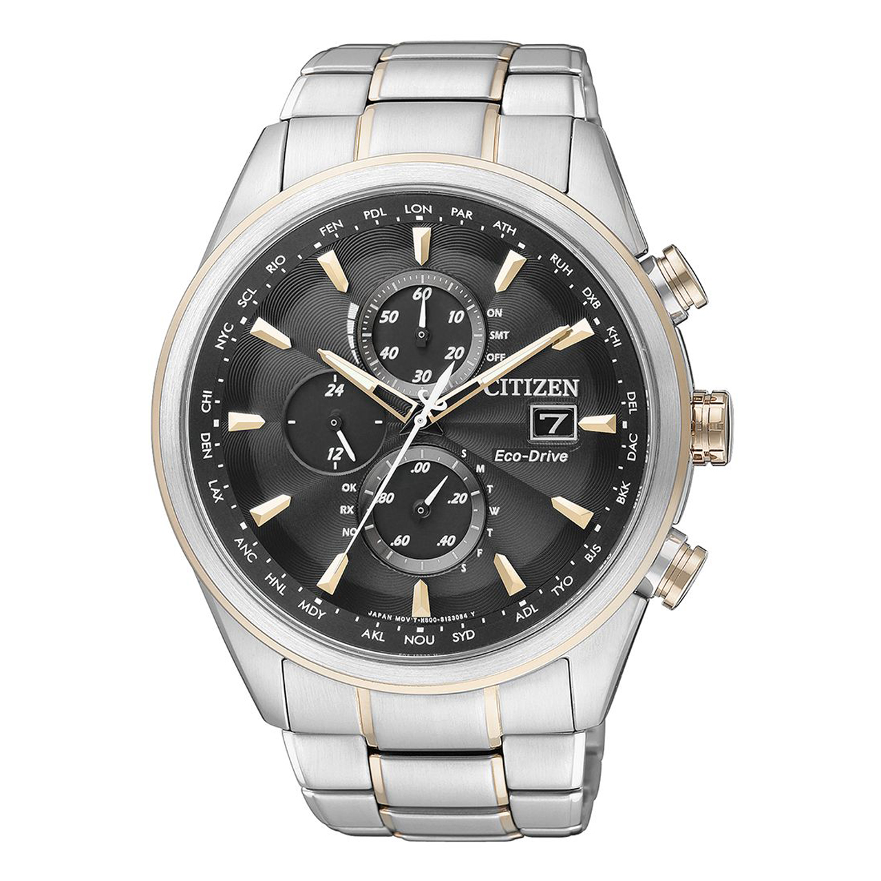 Citizen Elegant Chrono für Herren in Bicolor AT8017-59E