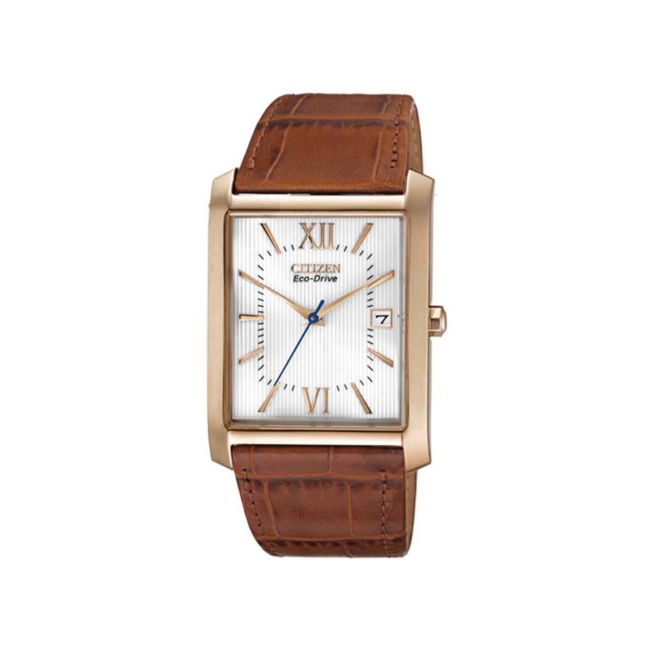 Citizen Elegant Herren Tonneau Uhr BM6788-05A