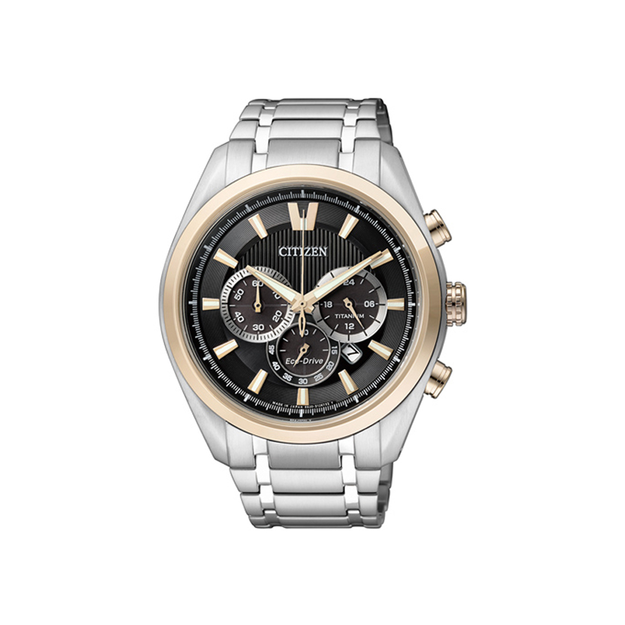 Citizen Super Titanium Eco Drive Chrono CA4014-57E