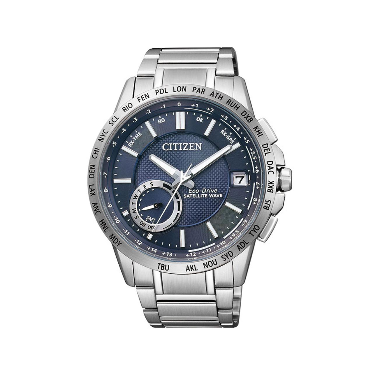 Citizen Elegant Herren Armbanduhr Eco Drive CC3000-54L