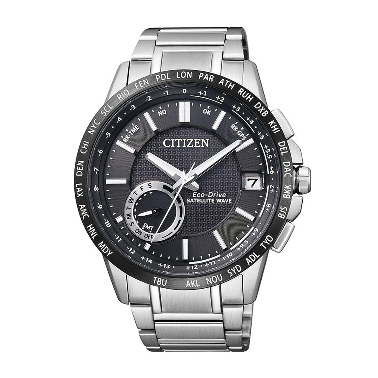 Citizen Elegant GPS Herren Armbanduhr CC3005-51E
