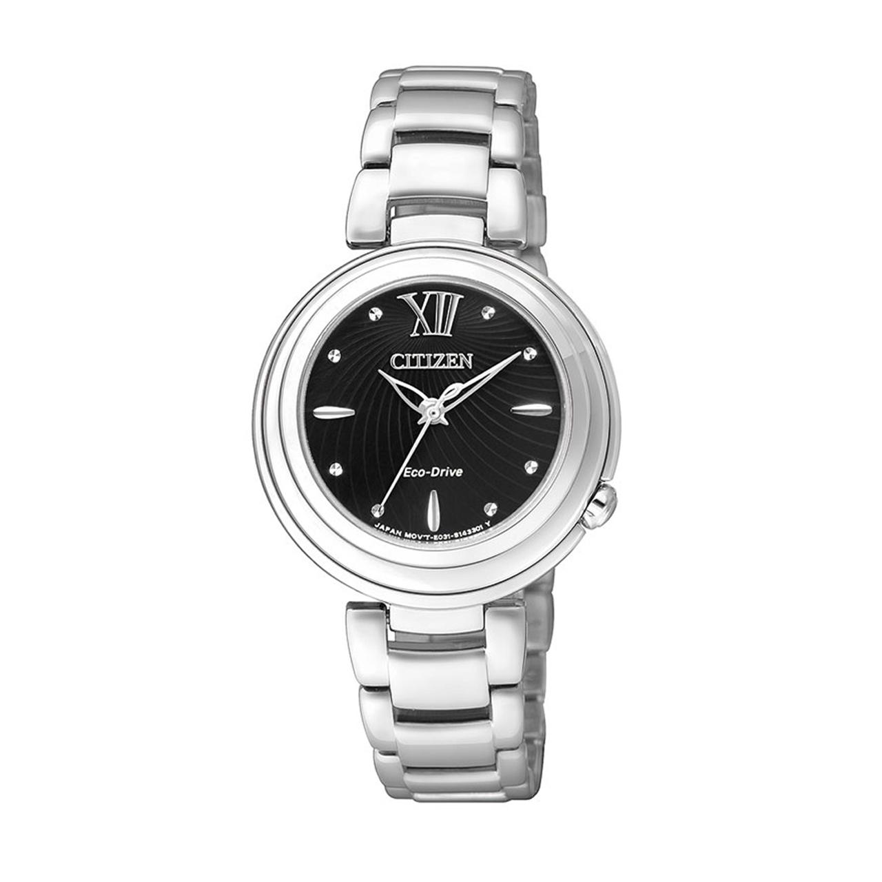 Citizen Elegant Damen Armbanduhr EM0331-52E Eco Drive