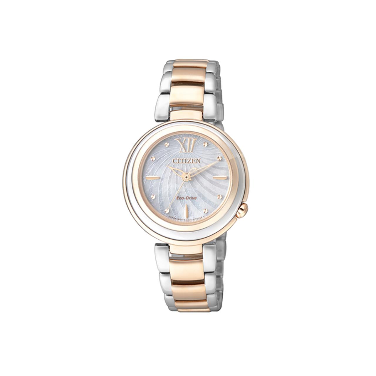 Citizen Elegant Damen Armbanduhr EM0335-51D Eco Drive