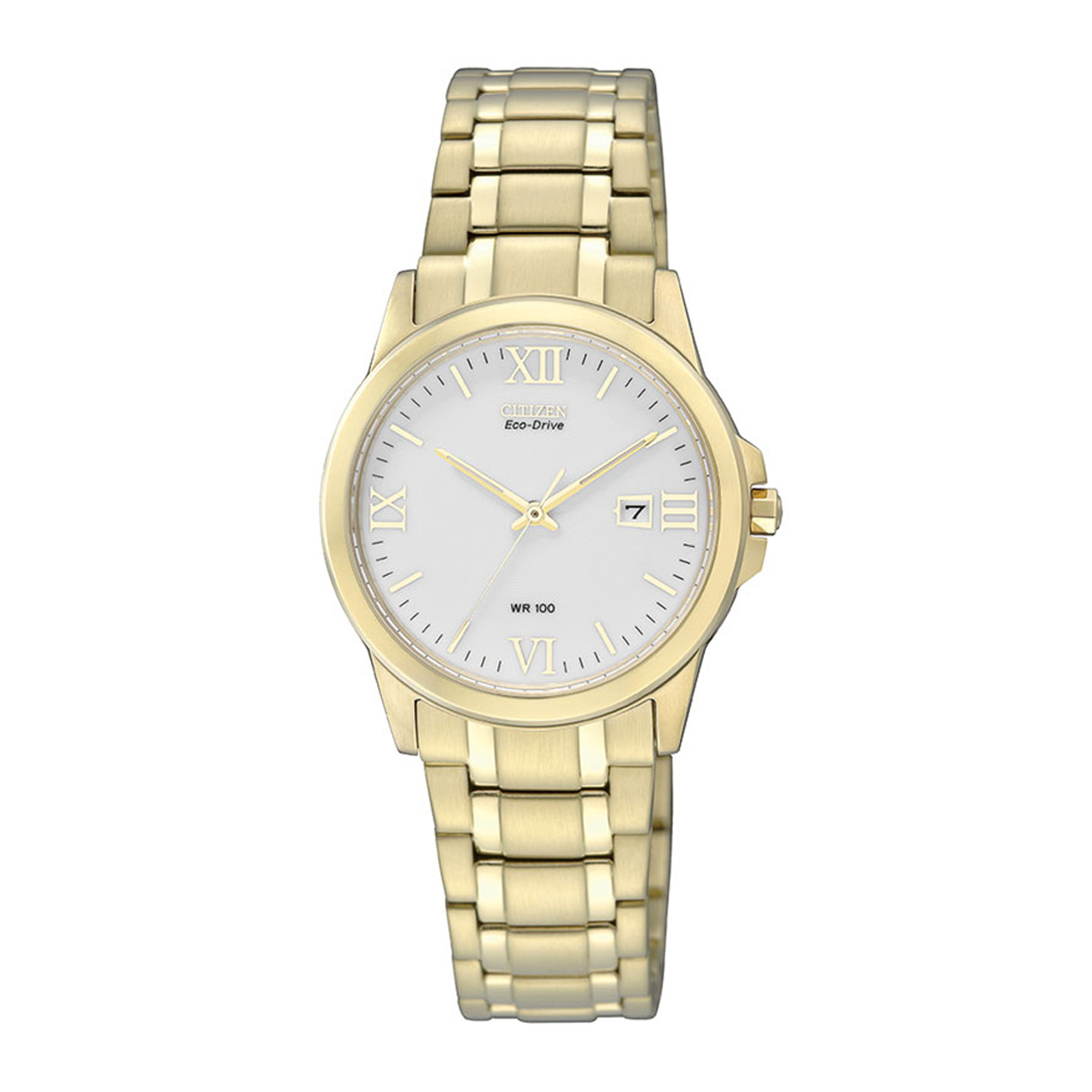 Citizen Elegant Damenuhr in gold EW1912-51A