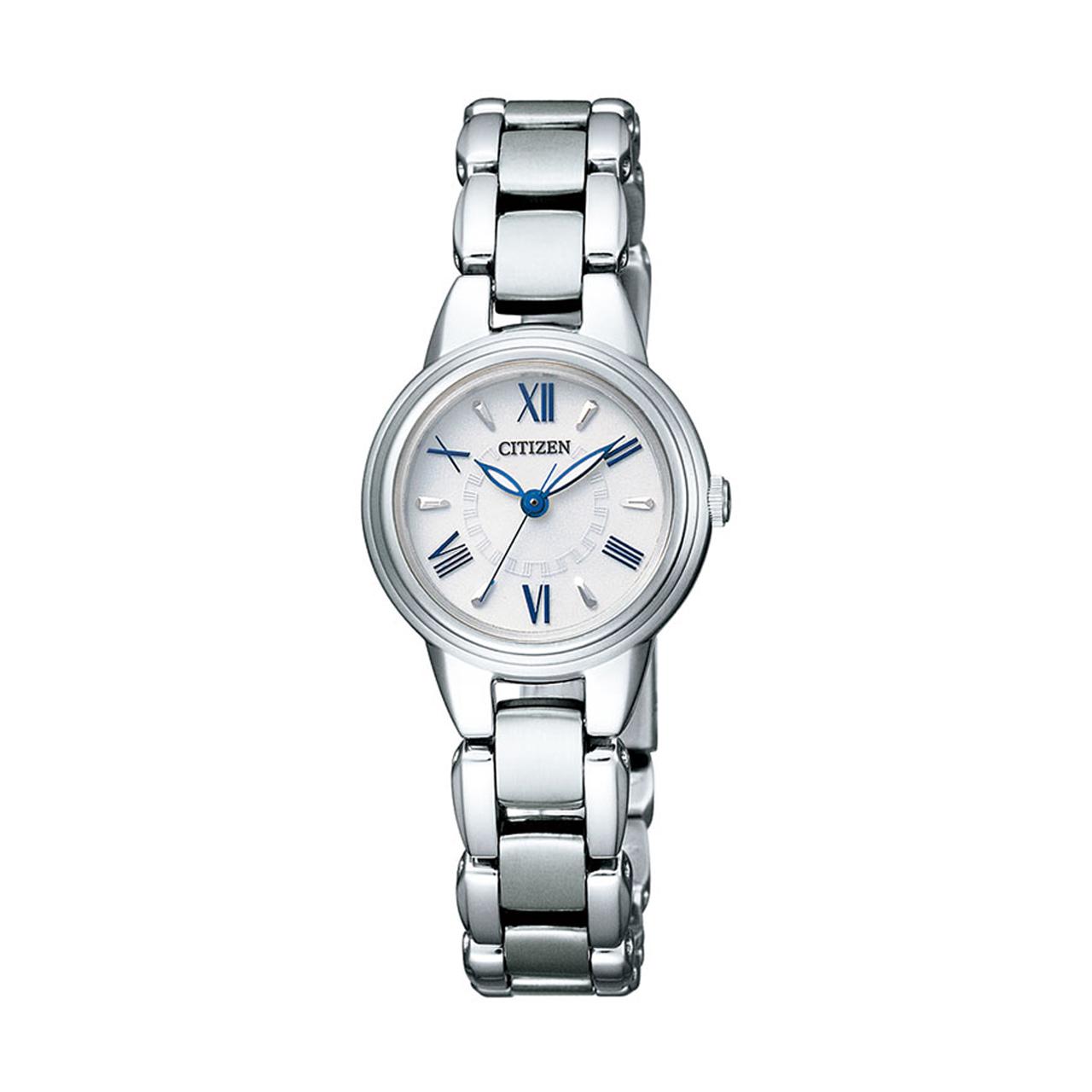 Citizen Elegant Damenuhr mit blauen Akzenten EX2030-67A