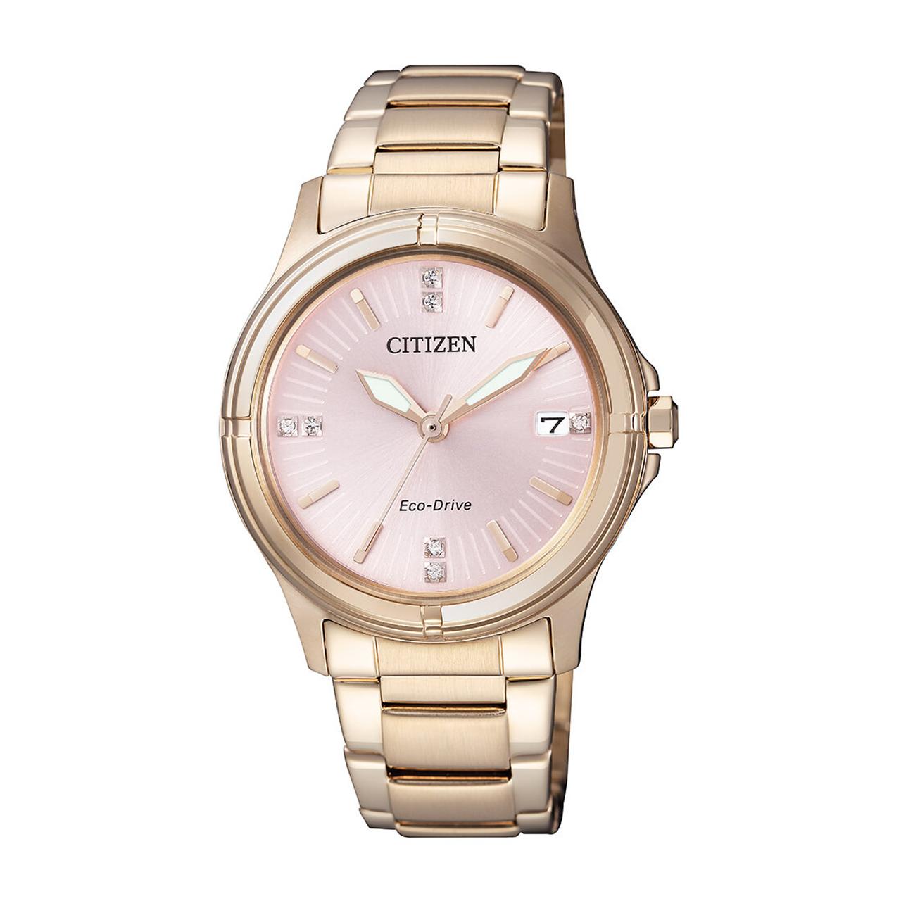 Citizen Elegant Damen Swarovski Uhr FE6053-57W
