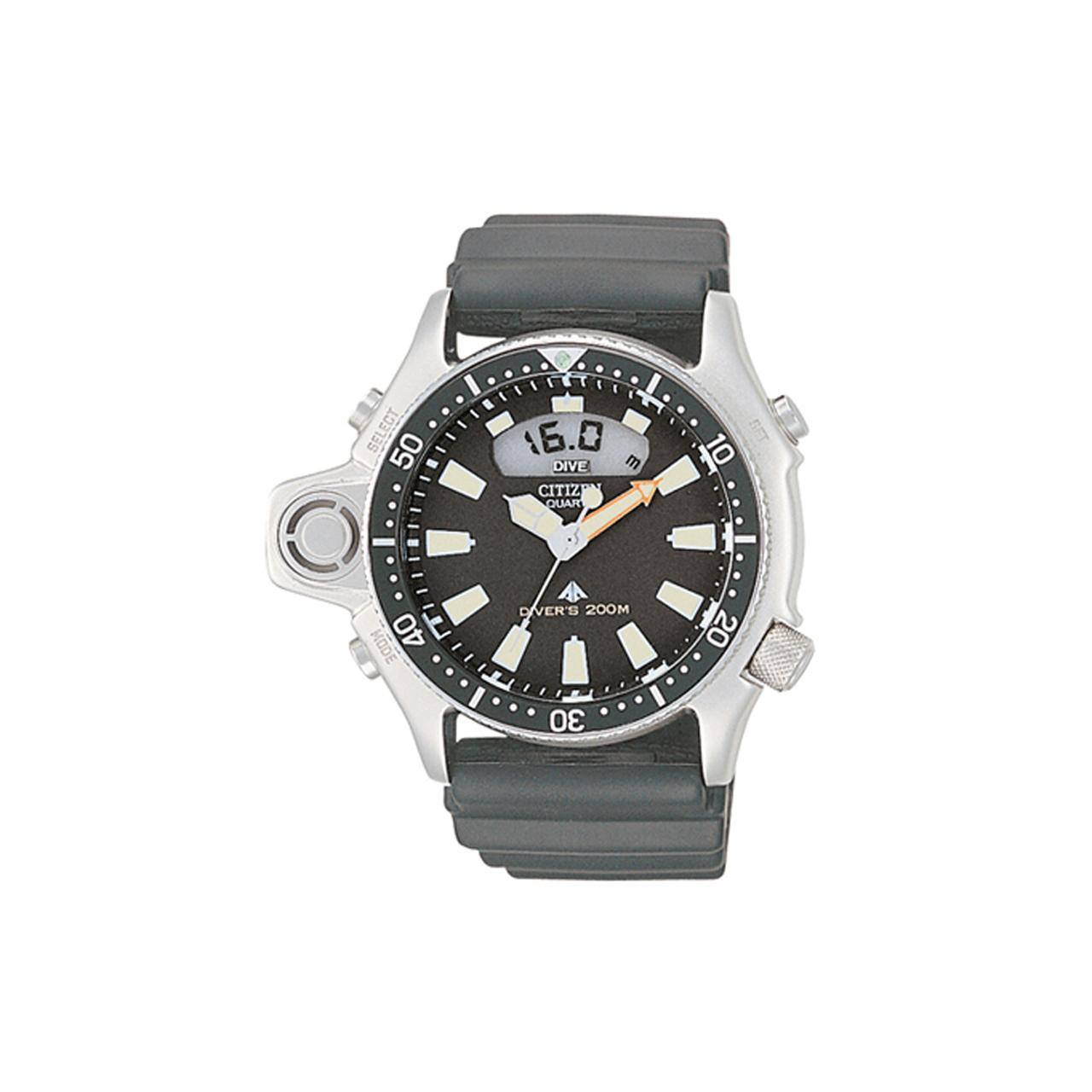 Citizen Promaster Marine Uhr mit Tiefenmesser JP2000-08E