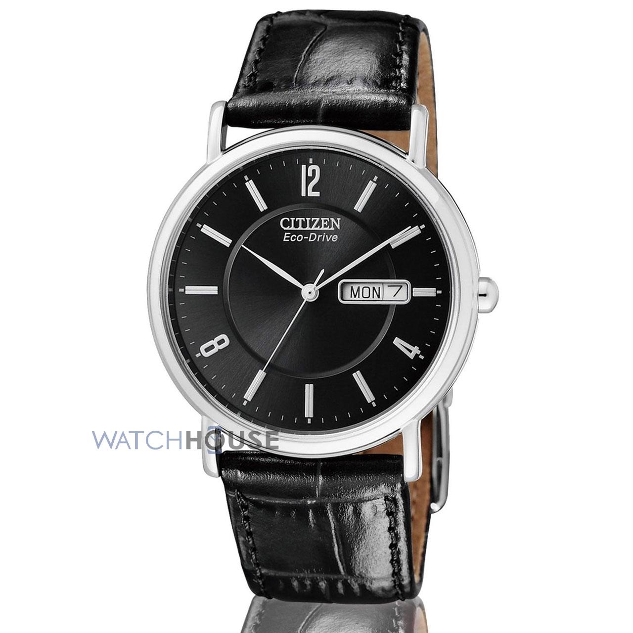Citizen Elegant Herren Day Date Armbanduhr BM8241-01EE
