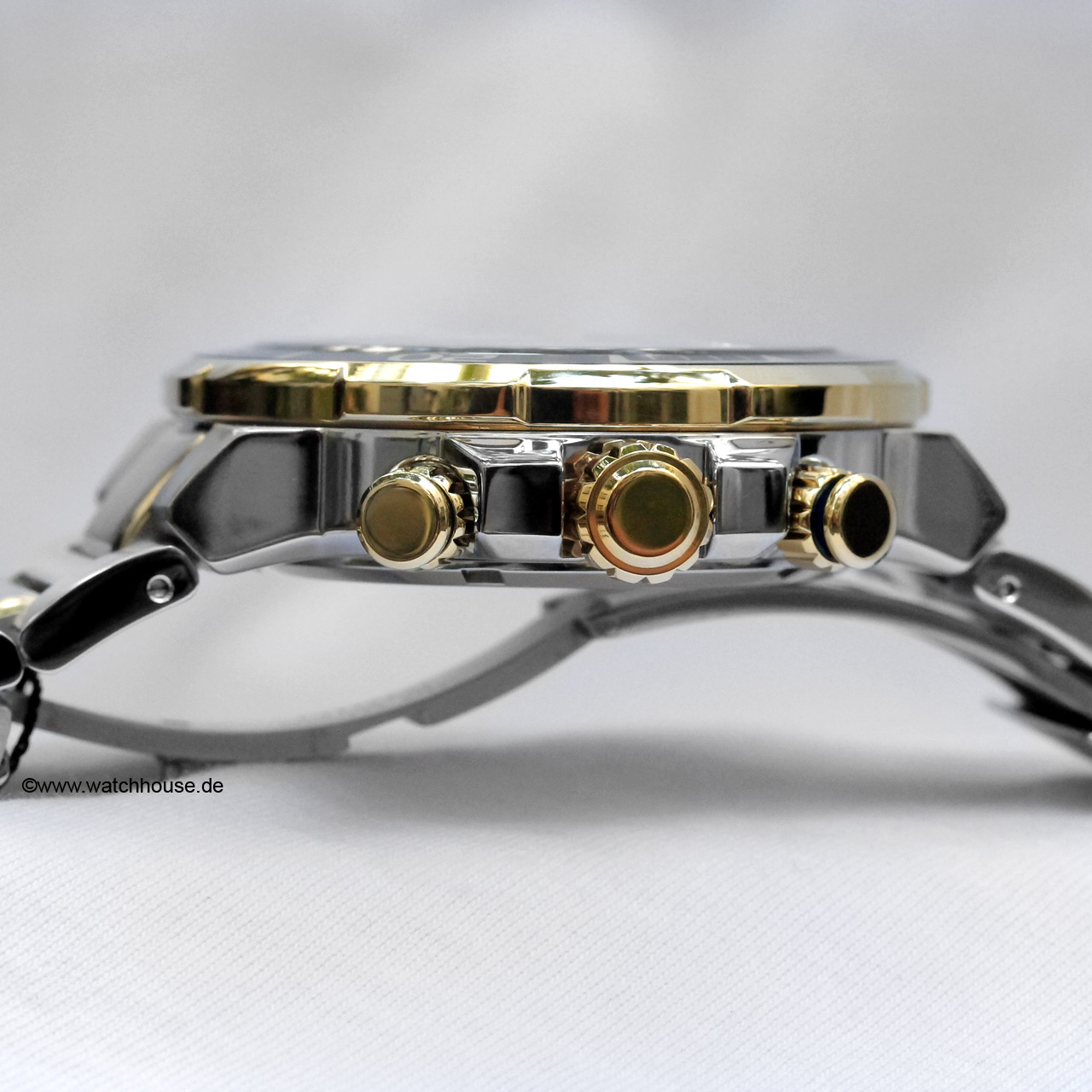Citizen herren armbanduhr chronograph quarz edelstahl ca4254 53l