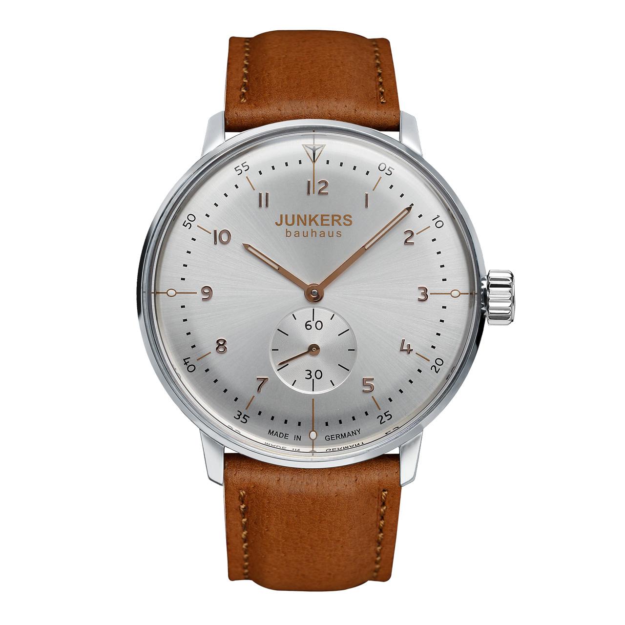 Junkers Bauhaus 6030-5 Herren Armbanduhr Handaufzug