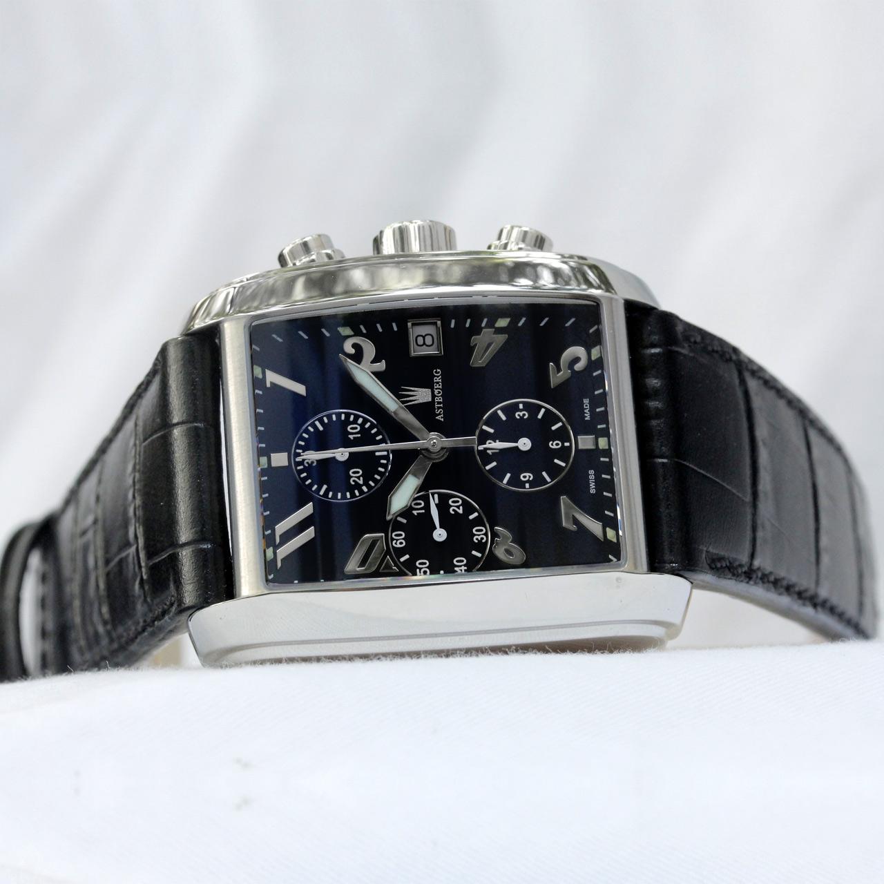 Astboerg Monza Herren Chronograph Automatikuhr AT641LBA
