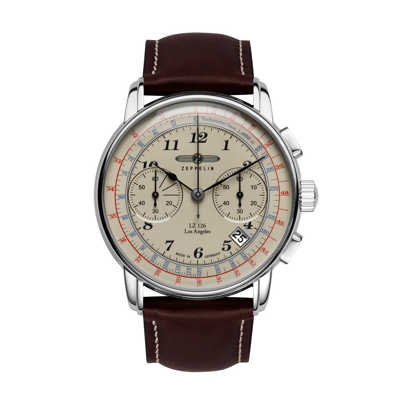 Zeppelin LZ126 Los Angeles 7614-5 Herren Armbanduhr Chronograph