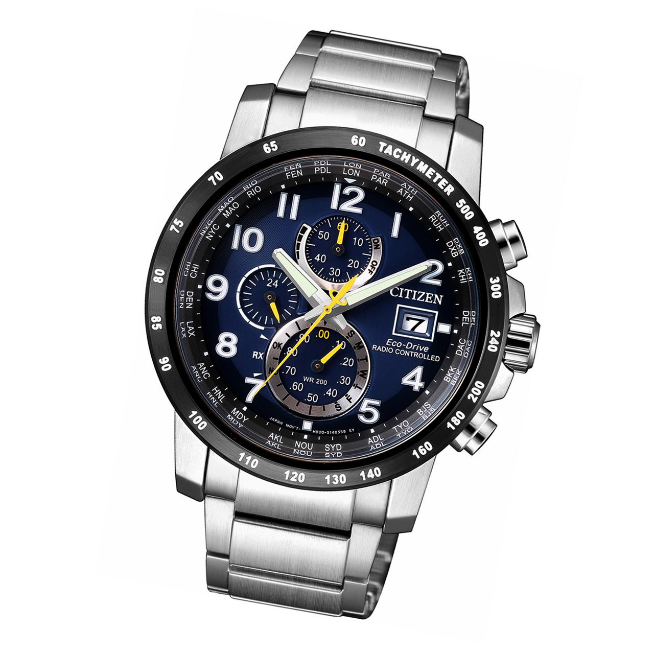 Citizen Elegant Herren Funkuhr AT8124-91L Eco-Drive Armbanduhr