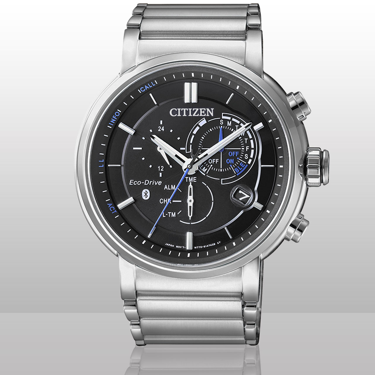 Citizen Bluetooth Uhr BZ1001-86E Eco Drive Herren Armbanduhr