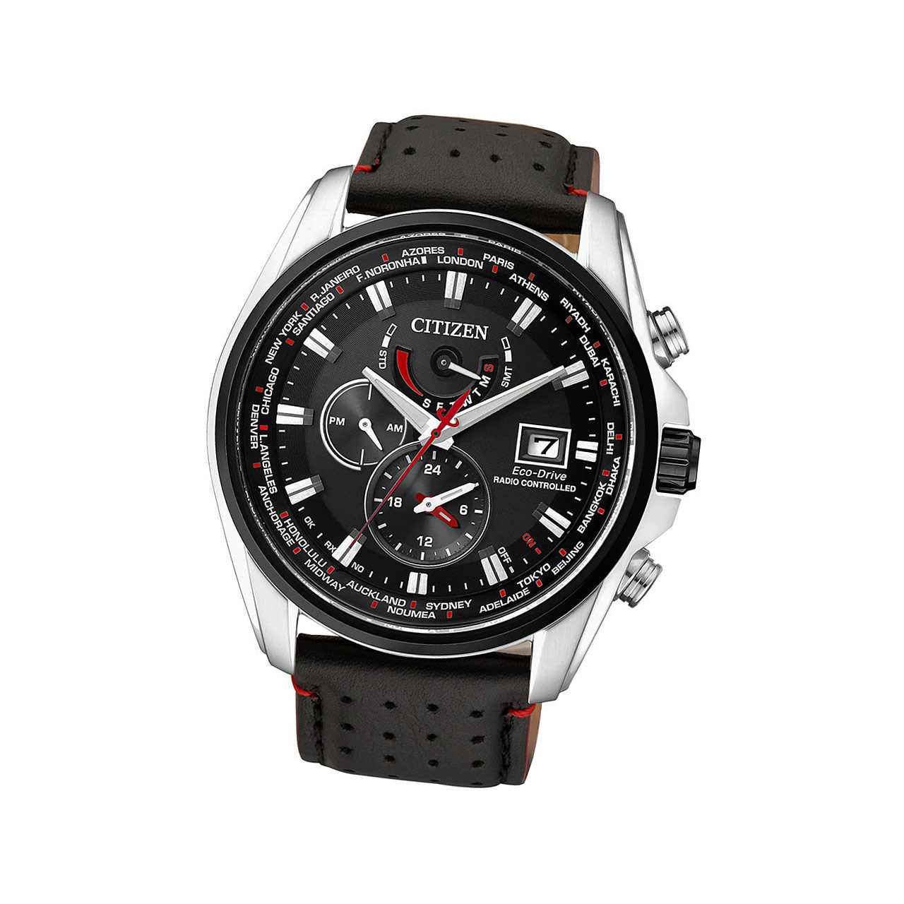 Citizen Elegant Herrenuhr AT9036-08E mit Saphirglas