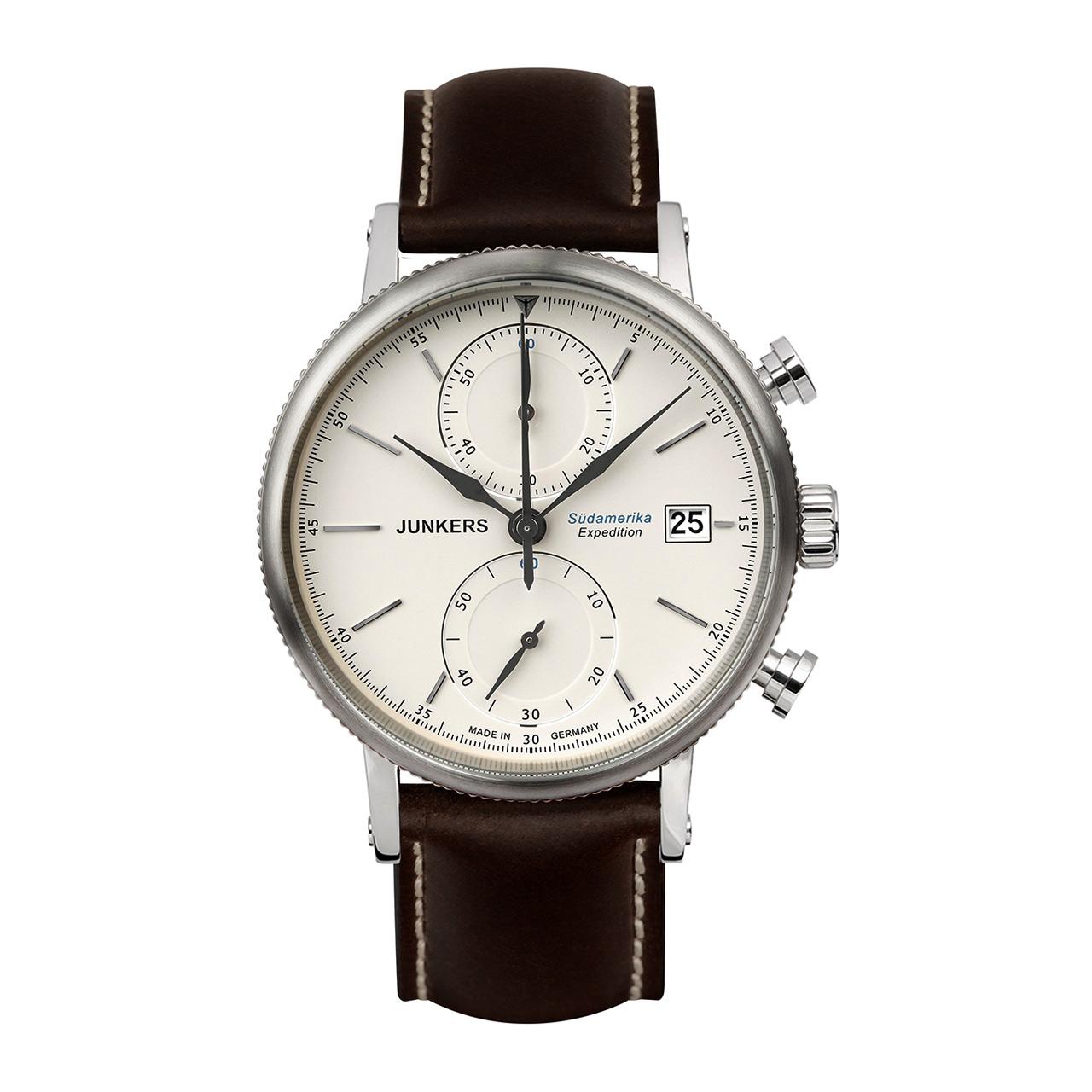 Junkers Serie Expedition Südamerika 6588-5 Herren Chronograph
