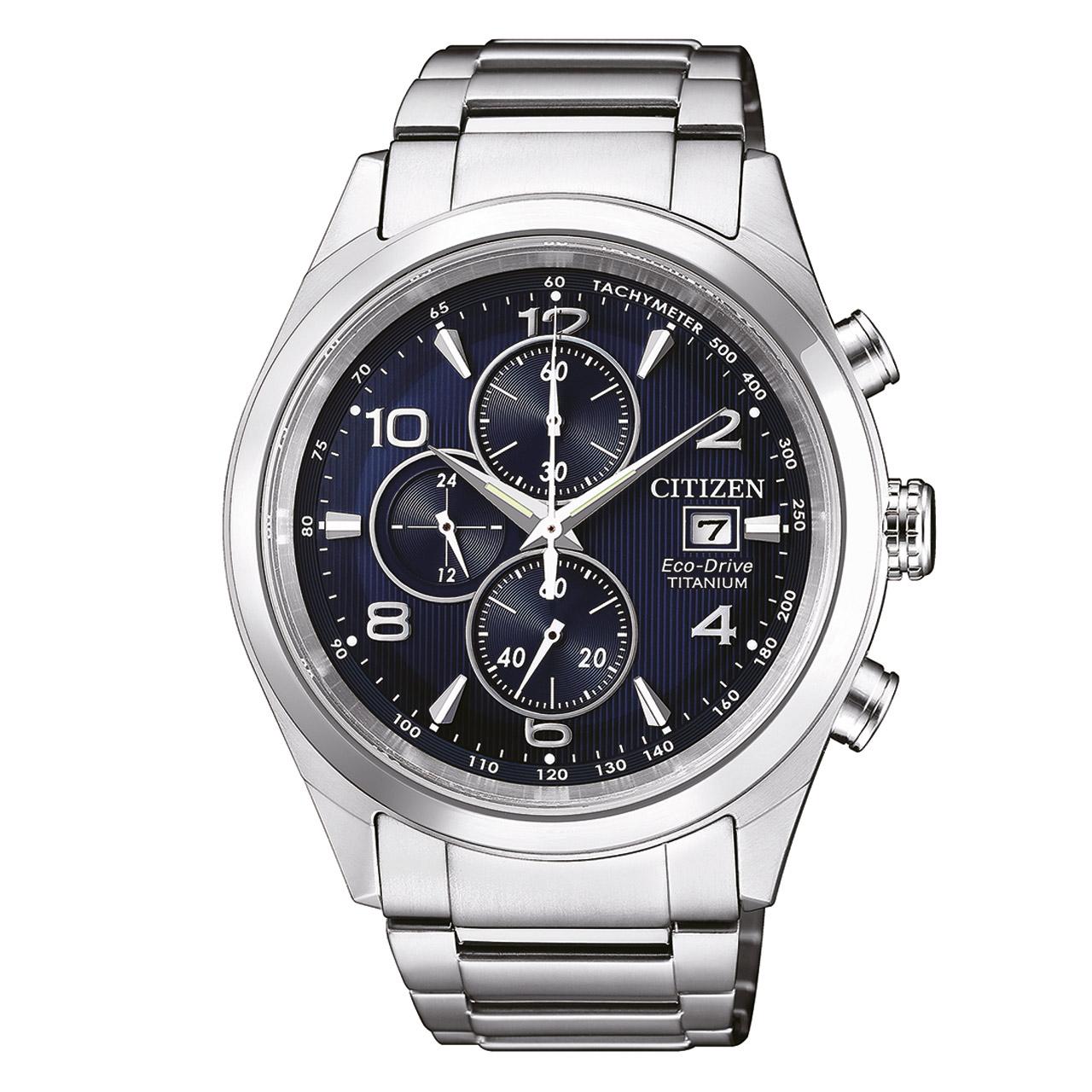 Citizen Super Titanium CA0650-82L Herren Armbanduhr Chronograph