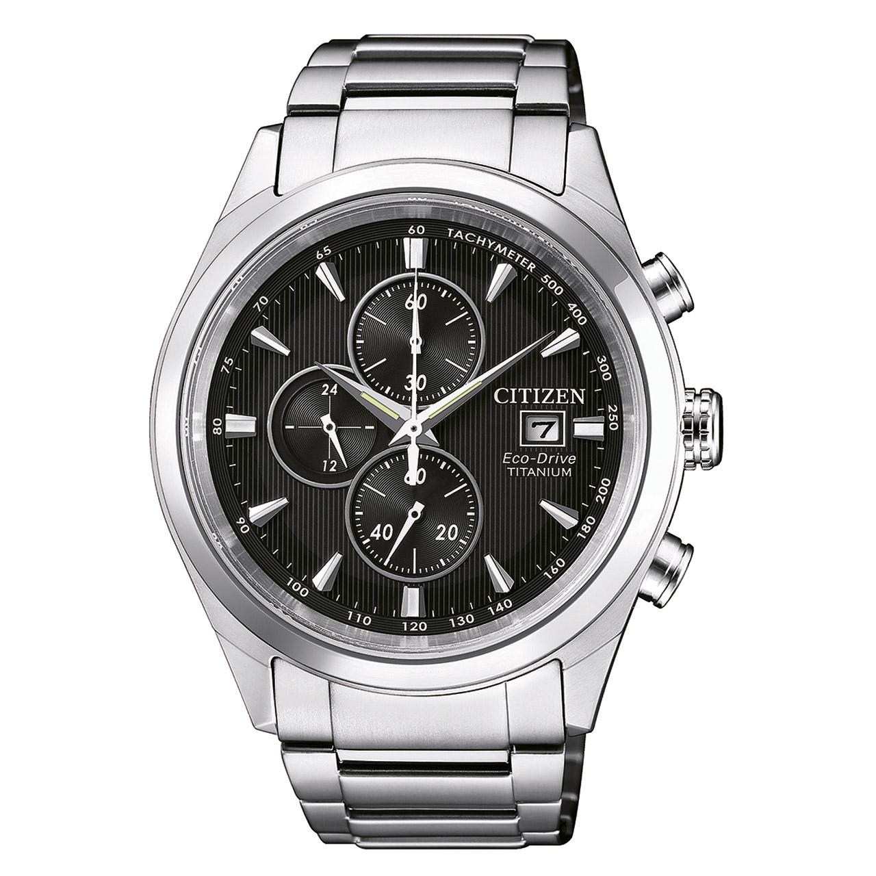 Citizen Super Titanium CA0650-82F Herren Armbanduhr Chronograph