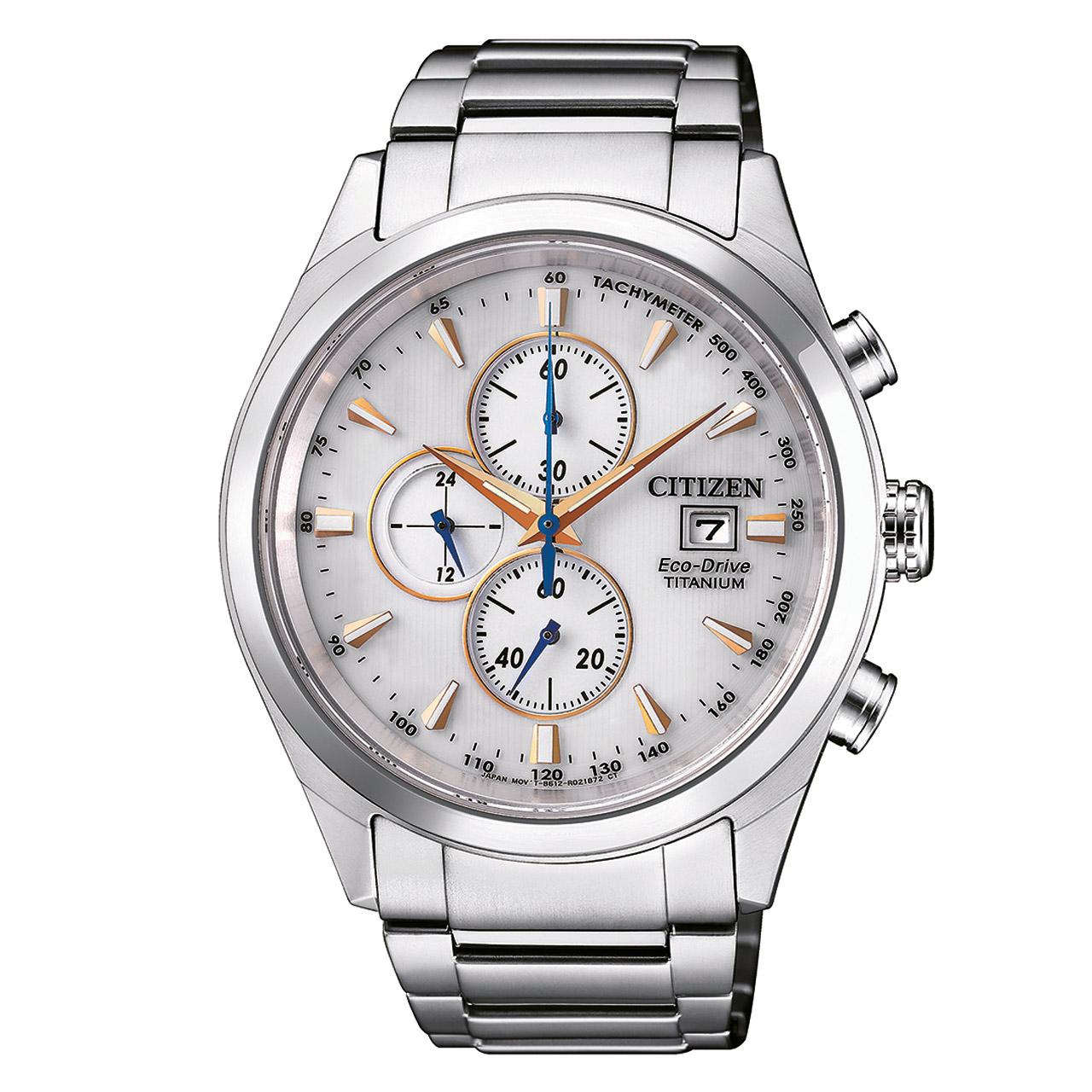 Citizen Super Titanium CA0650-82B Herren Armbanduhr Chronograph