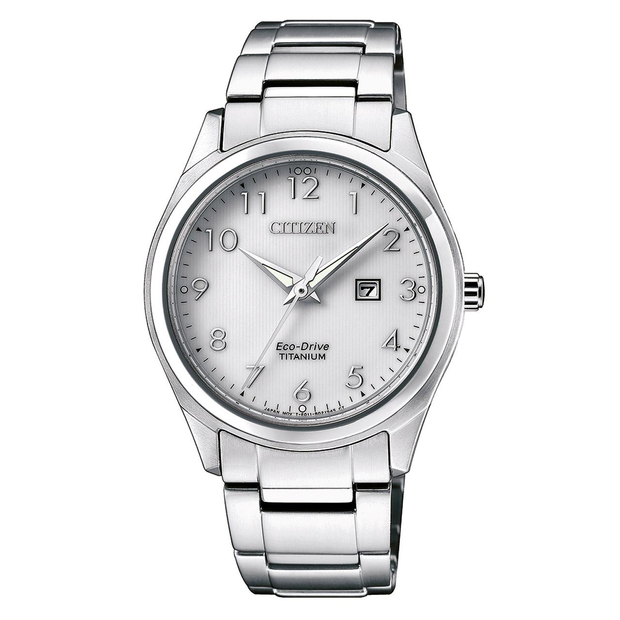 Citizen Super Titanium EW2470-87A Damen Armbanduhr Safirglas