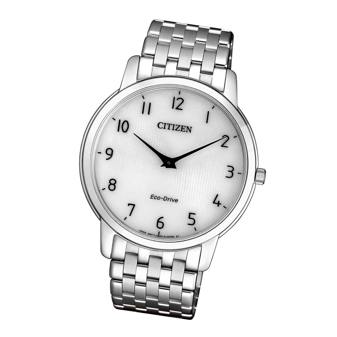 Citizen Elegant AR1130-81A Herren Armbanduhr Eco Drive