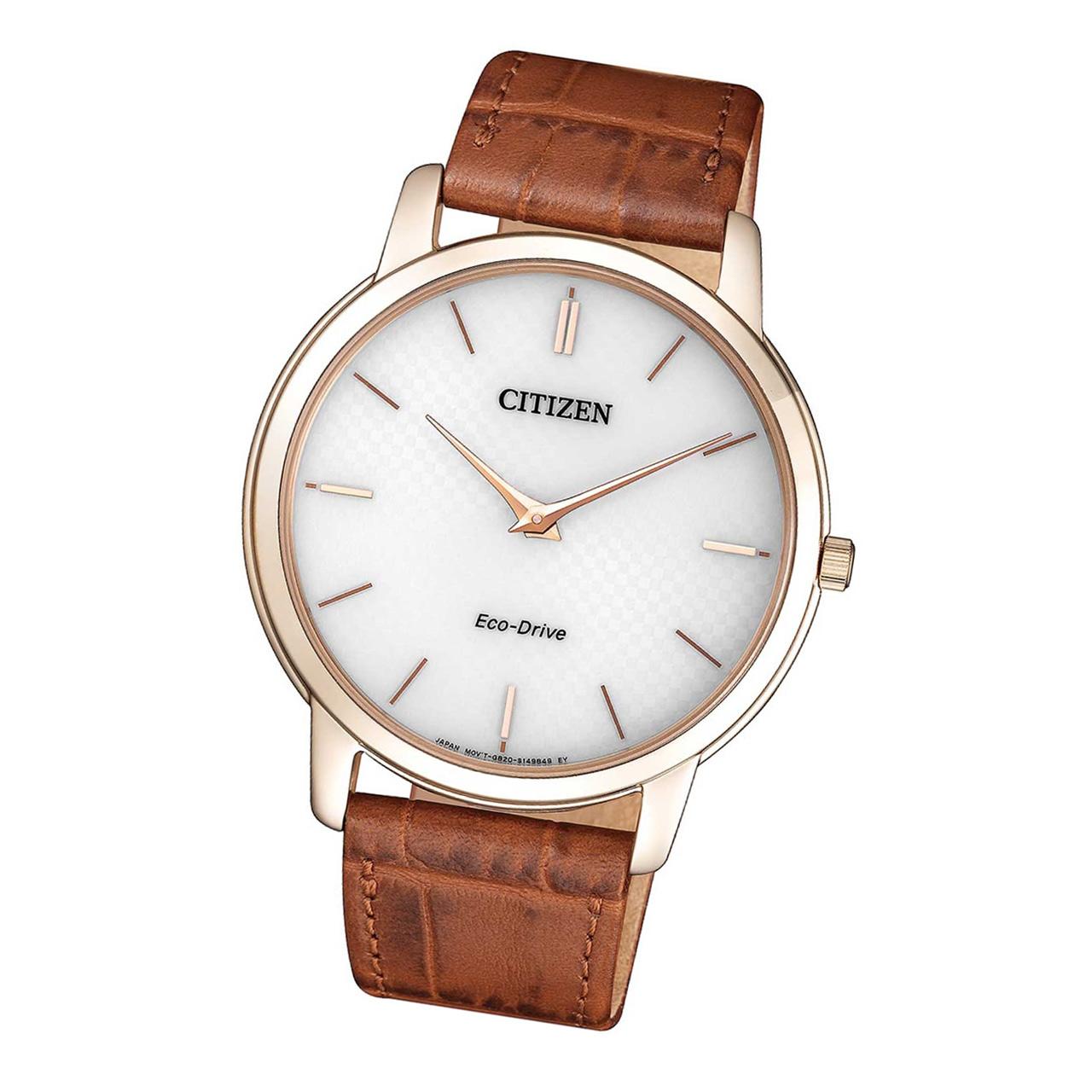 Citizen Elegant AR1133-15A Herren Armbanduhr Eco Drive