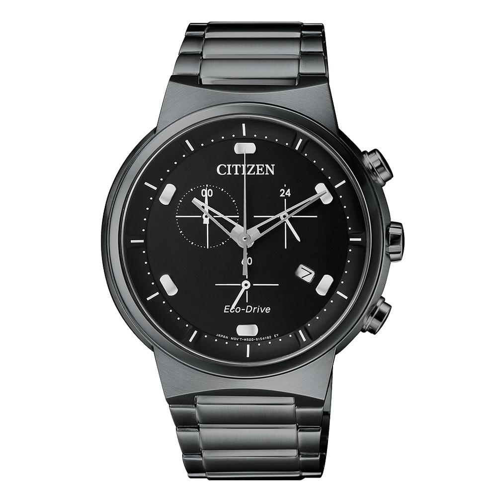Citizen Elegant AT2405-87E Eco Drive Herren Armbanduhr Chronograph