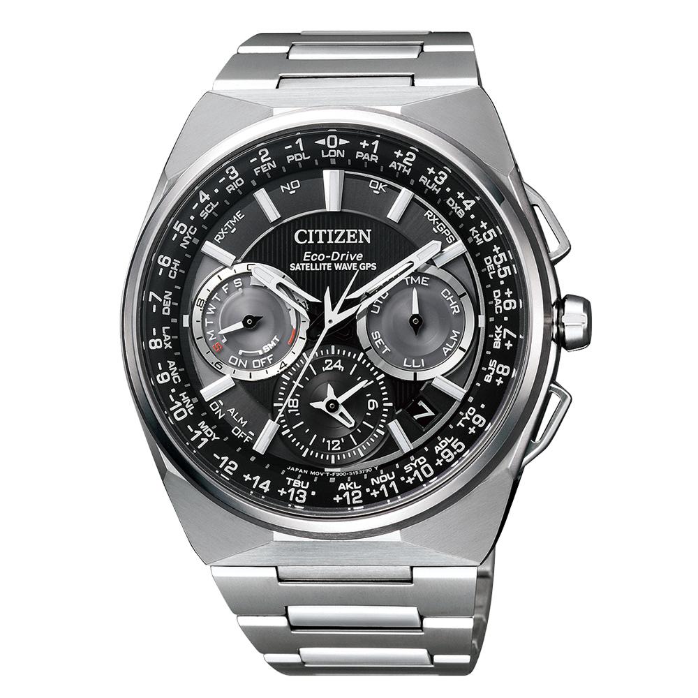 Citizen Satellite Wave CC9008-84E Super Titanium Eco Drive Herren Chrono