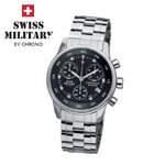 Swiss Military by Chrono Damenuhr 20048ST-1M Chronograph