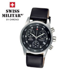 Swiss Military by Chrono Damenuhr 20048ST-1L Chronograph