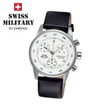 Swiss Military by Chrono Damenuhr 20048ST-2L Chronograph