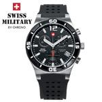 Swiss Military by Chrono Herrenuhr 20072ST-1RUB Chronograph