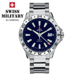Swiss Military by Chrono Herrenuhr 20079ST-6M GMT
