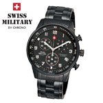 Swiss Military by Chrono Herrenuhr 20042BPL-1M Chronograph