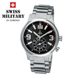 Swiss Military by Chrono Herrenuhr 20061ST-11M Big Date