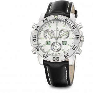 Astboerg Silverstone Mens Watch AT720W Alarm Chronograph