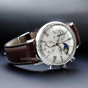 Zeppelin Serie LZ120 Rome 7194-5 Armbanduhr Chronograph
