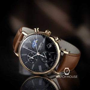 Zeppelin LZ120 Rome Chronograph 7196-2 with Moonphase