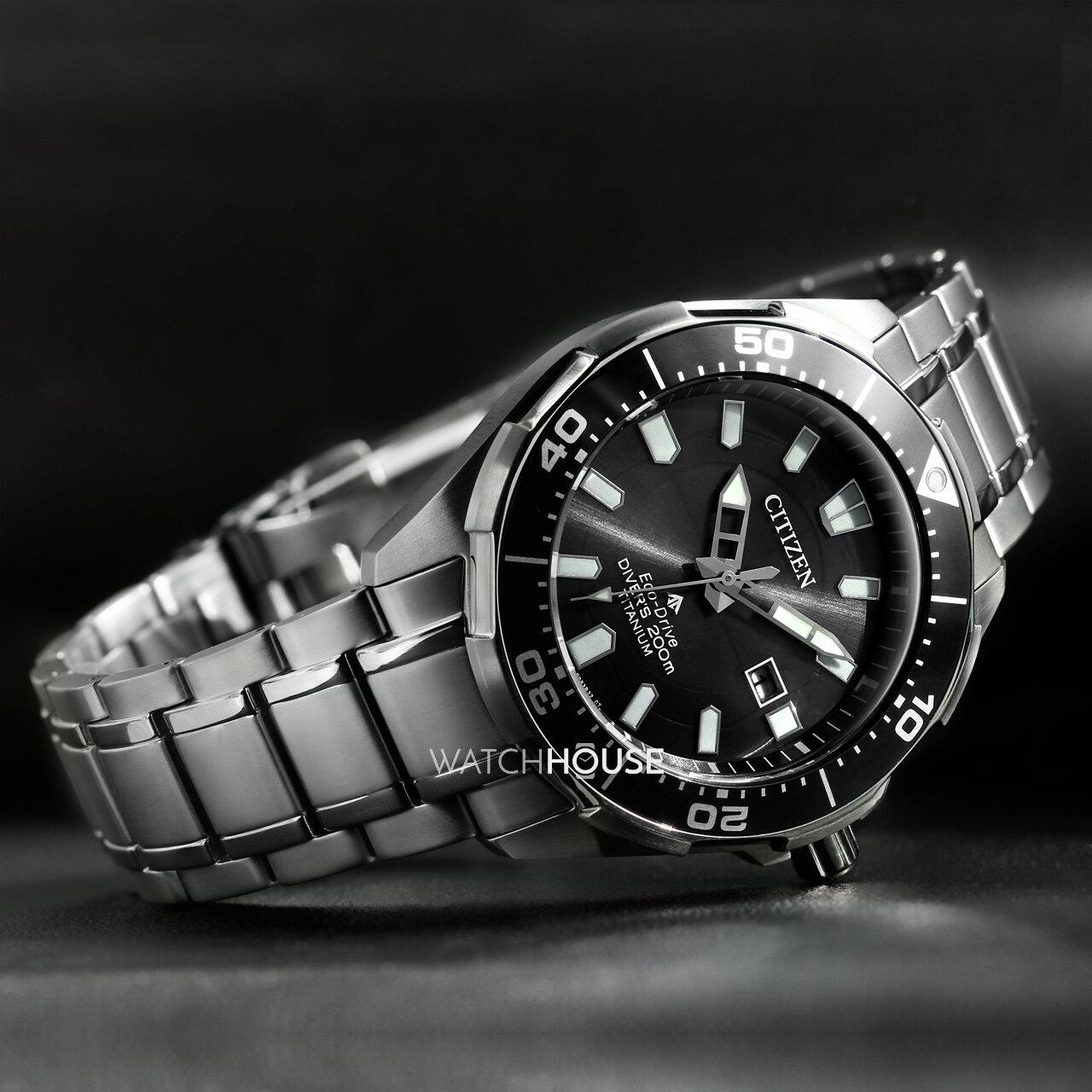 Citizen promaster marine bn0200 81e diver eco drive men 39 s super titan 349 00 - Citizen titanium dive watch ...