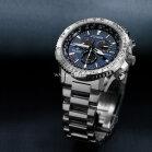 Citizen Promaster Sky CB5010-81L Herren 4-Zonen Funkuhr Super Titanium