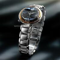 Citizen L-Kollektion EM0658-87E Diamond Damen Armbanduhr Eco Drive Solar