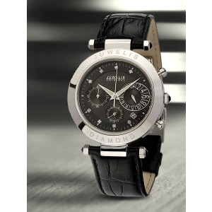 Juwelis Helios Diamond Herrenuhr JW0601SS Chronograph Diamanten