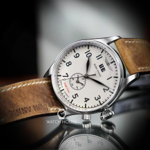 Iron Annie Flight Control 5140-3 Dual Zeit Herren Armbanduhr