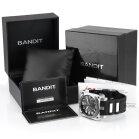 Bandit Flightmaster Herrenuhr BTS72943S Chronograph