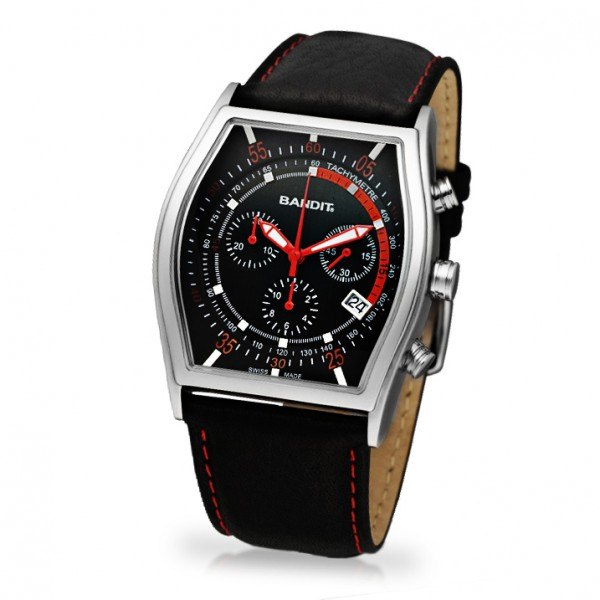 Bandit Korsar Mens Watch BT8032SSR Chronograph