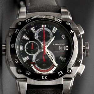 Astboerg Mens Watch AT3061SS King Size II Megalock...