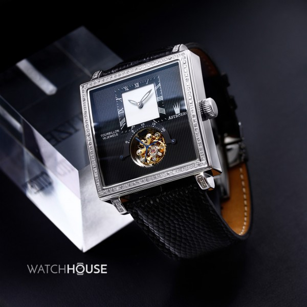 Astboerg Quadrus Diamant Herrenuhr AT811D Tourbillon