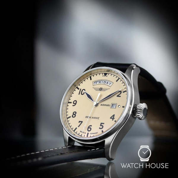 Iron Annie Flight Control 5164-5 Automatik Herrenuhr